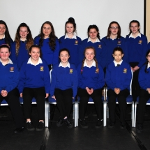 Gairmscoil Chœ Uladh, Balinamore pictured with tutor Kelly McGrory