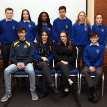 Errigal College, Letterkenny with Enya O'Donnell and Margaret McAteer