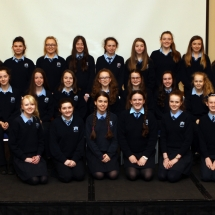 St Catherine College Killybegs, with Mary Gallagher and Karen Mc Crudden